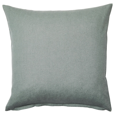 VIGDIS cushion cover pale green 50 cm 50 cm