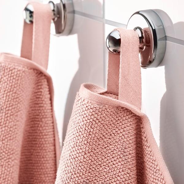VIKFJÄRD Washcloth, light pink, 30x30 cm