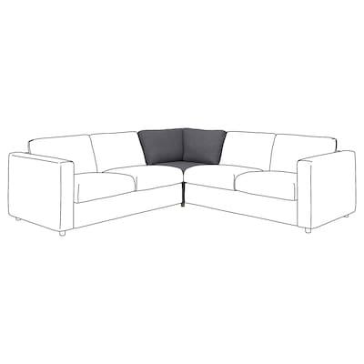 VIMLE Corner section, Gunnared medium grey