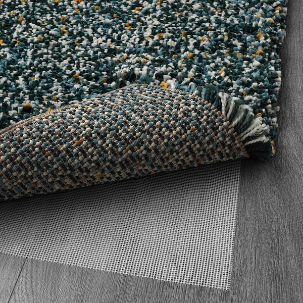 VINDUM rug, high pile blue-green 230 cm 170 cm 30 mm 3.91 m² 4180 g/m² 2400 g/m² 26 mm 35 mm