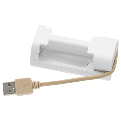 VINNINGE Battery charger, white