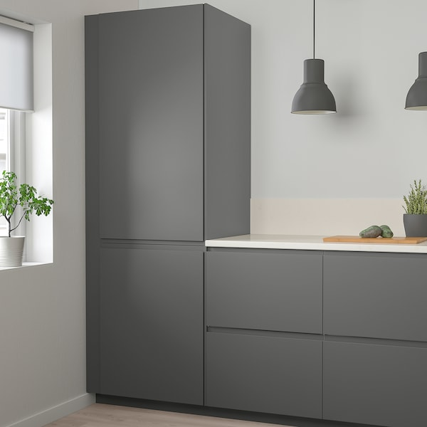 VOXTORP Door, dark grey, 40x100 cm