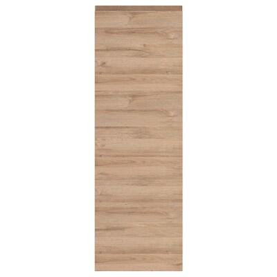 VOXTORP Door, oak effect, 40x120 cm