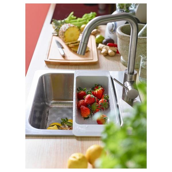 ÄLMAREN mitigeur cuisine à douchette extrac couleur acier inox 36 cm