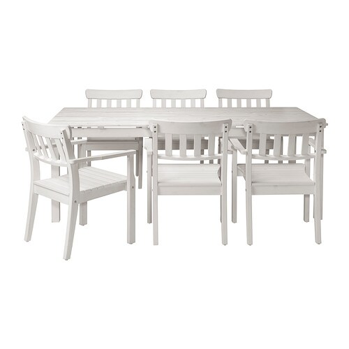Ngs table 6 chaises accoud ext rieur ikea - Ikea salon exterieur ...