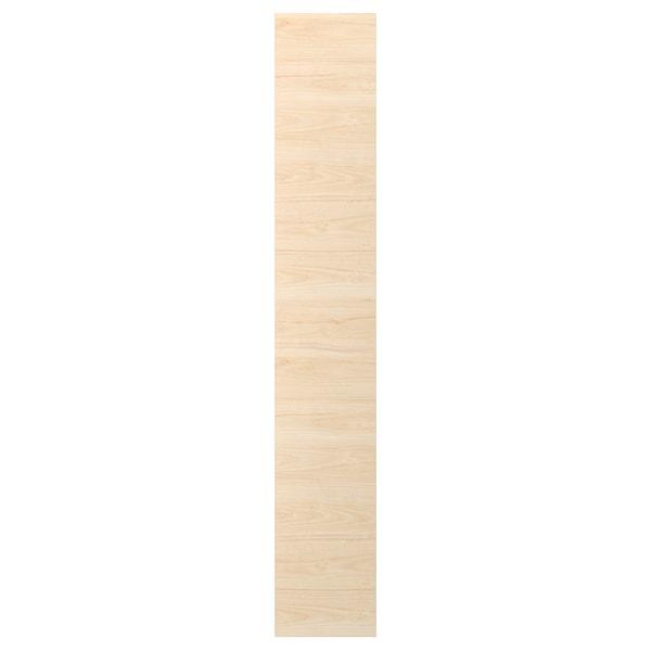 ASKERSUND Panneau latéral de finition, effet frêne clair, 39x240 cm