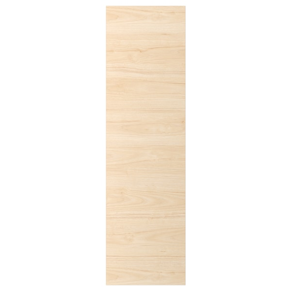 ASKERSUND Porte, effet frêne clair, 40x140 cm