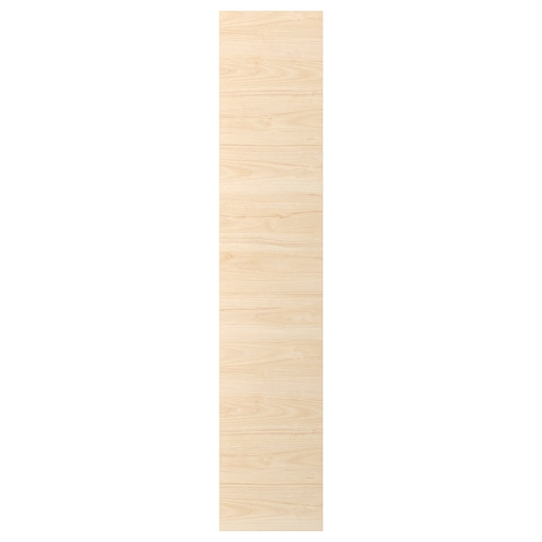 ASKERSUND Porte, effet frêne clair, 40x200 cm