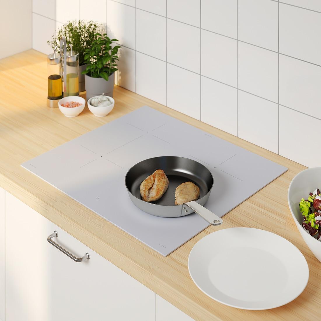 bejublad table de cuisson induction  ikea 500 blanc