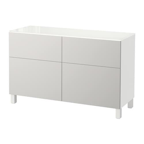 Best combinaison rangement tiroirs blanc lappviken gris clair glissi re t - Ikea rangement tiroir ...