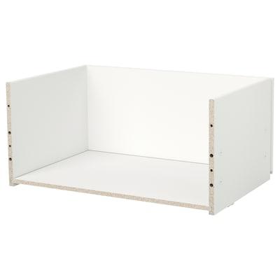BESTÅ Structure tiroir, blanc, 60x25x40 cm
