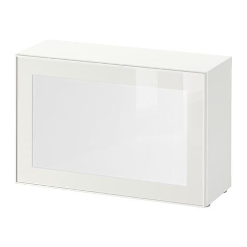 best surte tag re avec porte led blanc blanc ikea. Black Bedroom Furniture Sets. Home Design Ideas