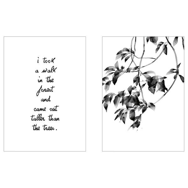 BILD Image, Balade en forêt, 50x70 cm