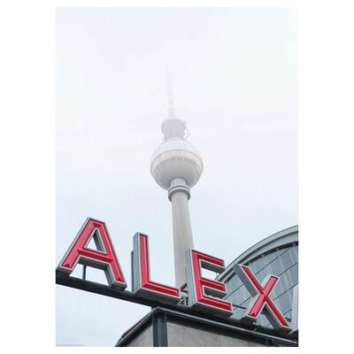 BILD Image, vue de la rue, Berlin, 50x70 cm