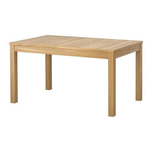 bjursta table extensible plaqu ch ne ikea. Black Bedroom Furniture Sets. Home Design Ideas