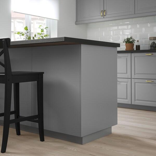 BODBYN Panneau latéral de finition, gris, 62x80 cm