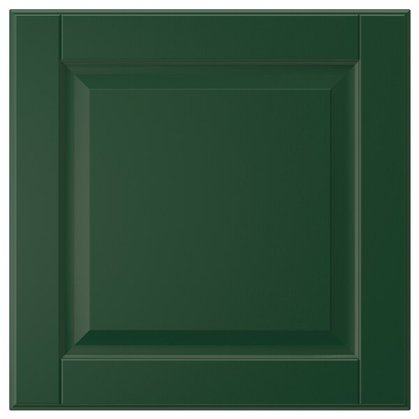 BODBYN Porte, vert foncé, 40x40 cm