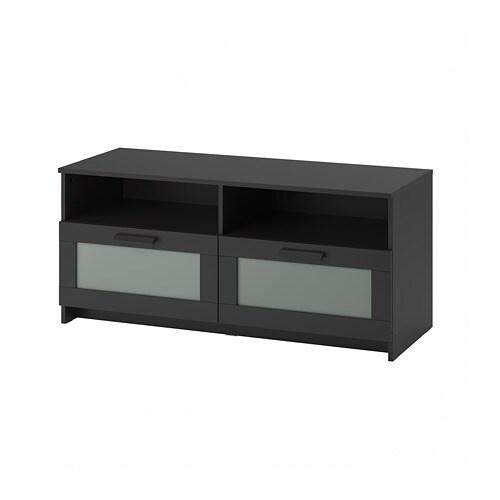 Brimnes banc tv noir ikea - Ikea meuble tv noir ...