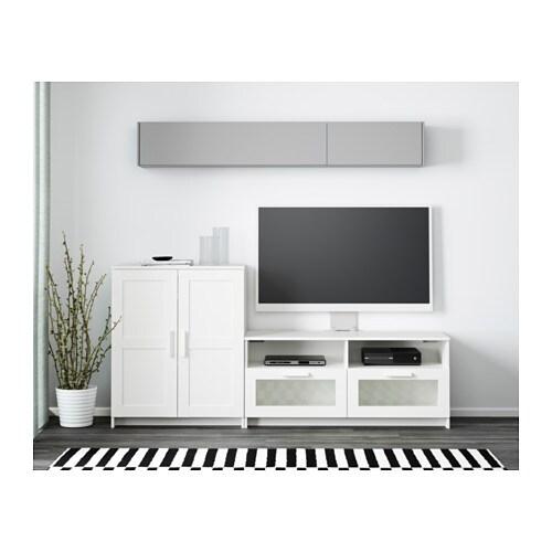 Noir Tv Combinaison Meuble Ikea Brimnes J3uK51TlFc