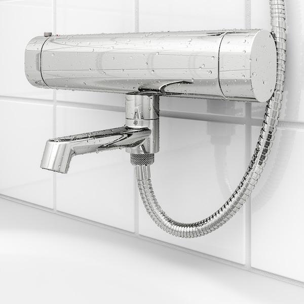 BROGRUND Mitigeur thermo pr douche/bain, chromé, 150 mm