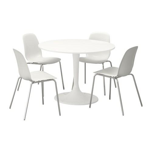 docksta leifarne table et 4 chaises ikea. Black Bedroom Furniture Sets. Home Design Ideas