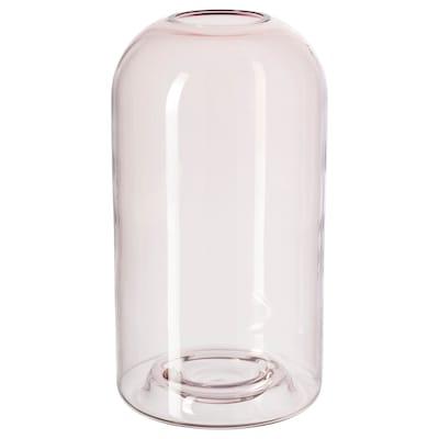 DRÖMSK Vase, rose, 26 cm