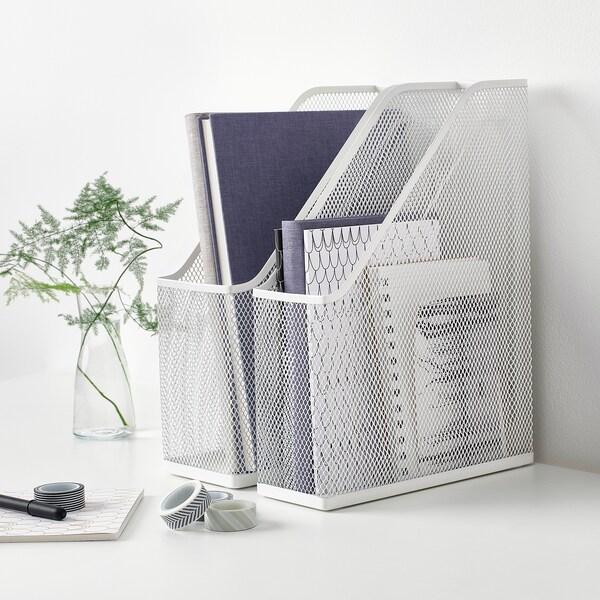 DRÖNJÖNS Range-revues, blanc