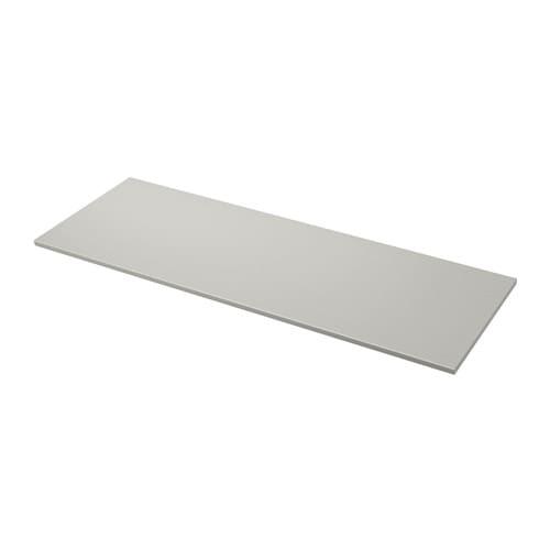 Ekbacken plan de travail gris clair motif pierre 246x2 for Plan de travail pierre prix