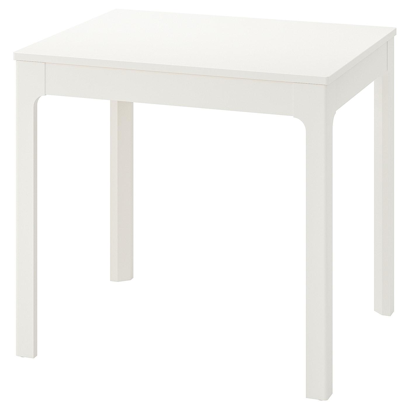 Ekedalen Table Extensible Blanc 80 120x70 Cm Ikea Suisse