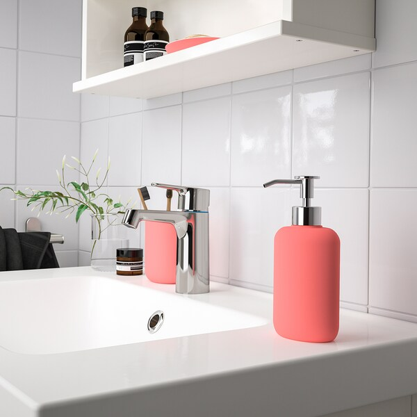 EKOLN Distributeur savon, rouge clair