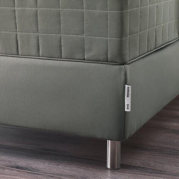 ESPEVÄR Sommier à lattes, gris foncé, 180x200 cm