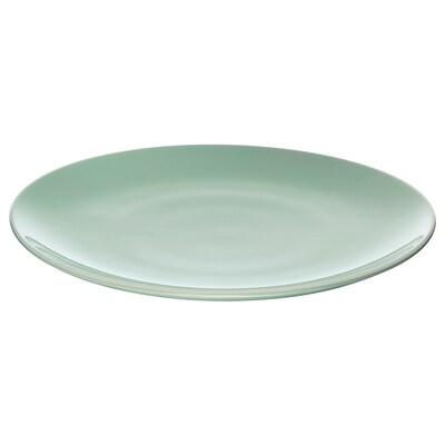 FÄRGRIK Assiette, vert clair, 27 cm