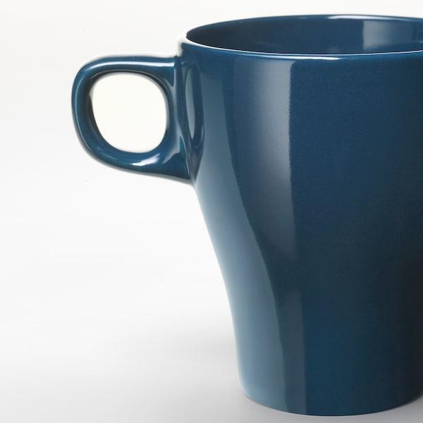 FÄRGRIK Mug, turquoise foncé, 25 cl