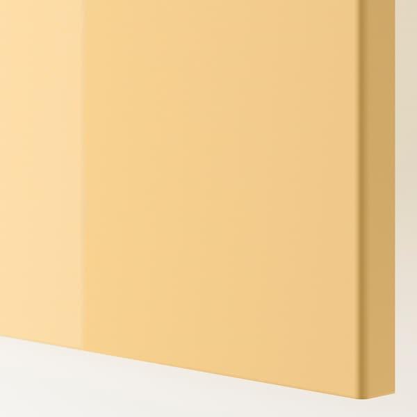 FARDAL Porte, brillant jaune, 50x229 cm