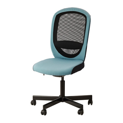 Flintan chaise pivotante havhult turquoise ikea for Chaise pivotante