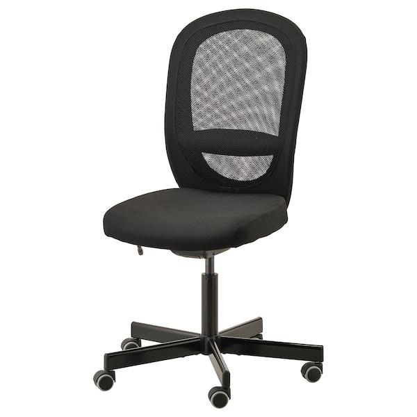 FLINTAN Chaise de bureau Vissle noir IKEA Suisse