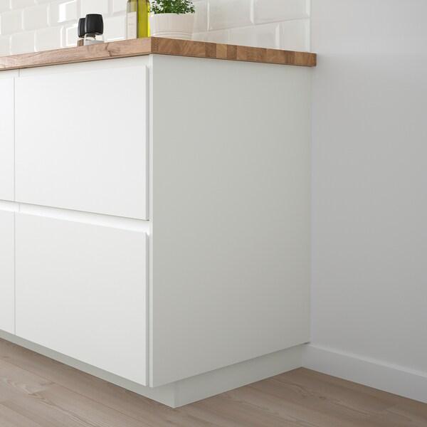 FÖRBÄTTRA Panneau latéral de finition, blanc mat, 62x80 cm