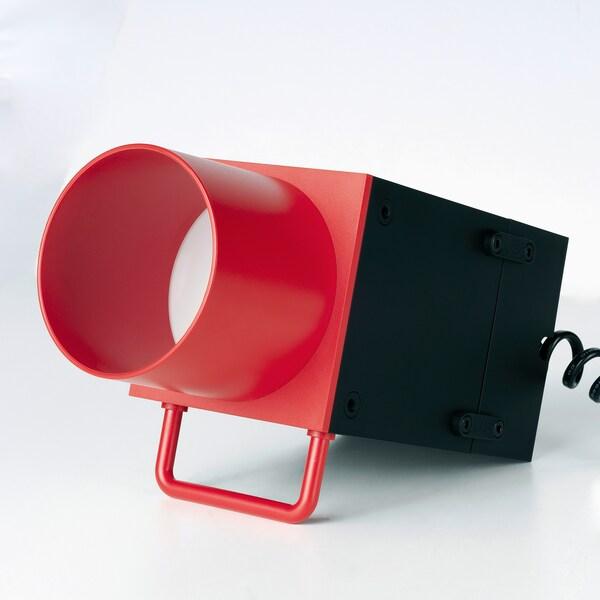 FREKVENS Accessoires spots à LED, lot de 4, rouge