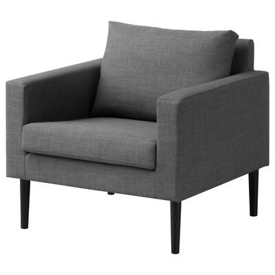 FRIHETEN fauteuil Skiftebo gris 73 cm 74 cm 70 cm 54 cm 50 cm 42 cm