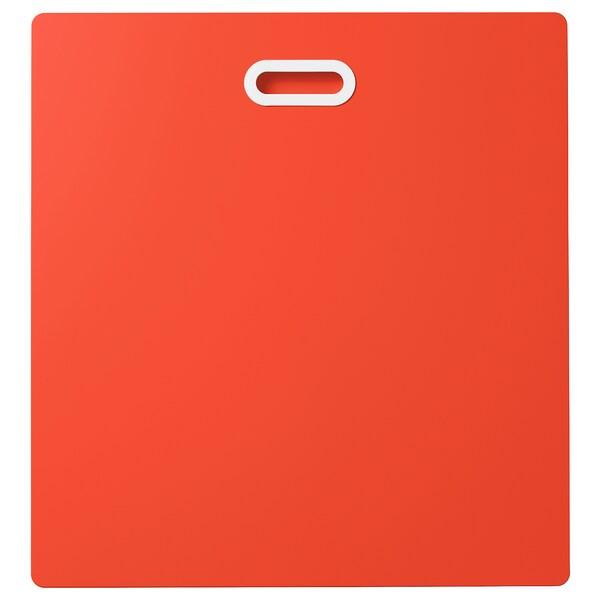 FRITIDS Face de tiroir, rouge, 60x64 cm