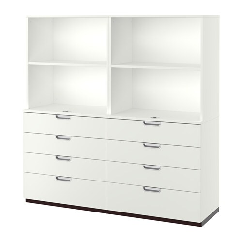 galant combinaison rangement tiroirs blanc ikea. Black Bedroom Furniture Sets. Home Design Ideas