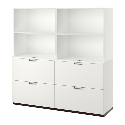 galant combinaison rangements av dossiers blanc ikea. Black Bedroom Furniture Sets. Home Design Ideas
