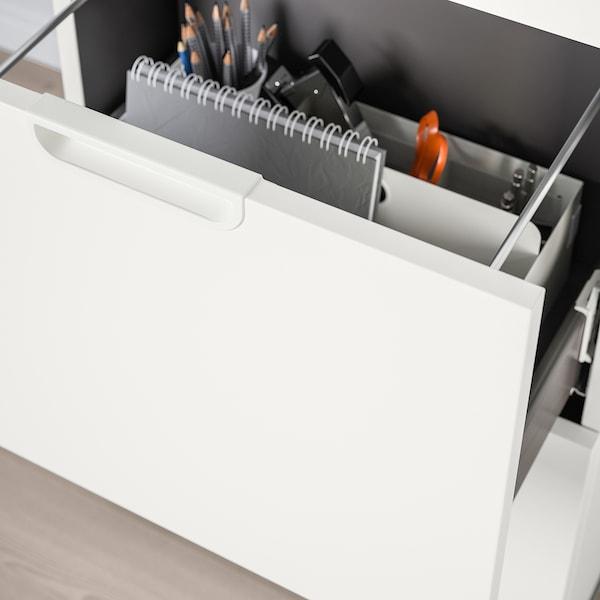GALANT Combinaison rangements av dossiers, blanc, 102x120 cm