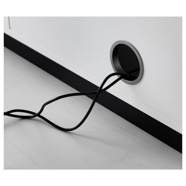GALANT Élément à portes coulissantes, blanc, 160x120 cm