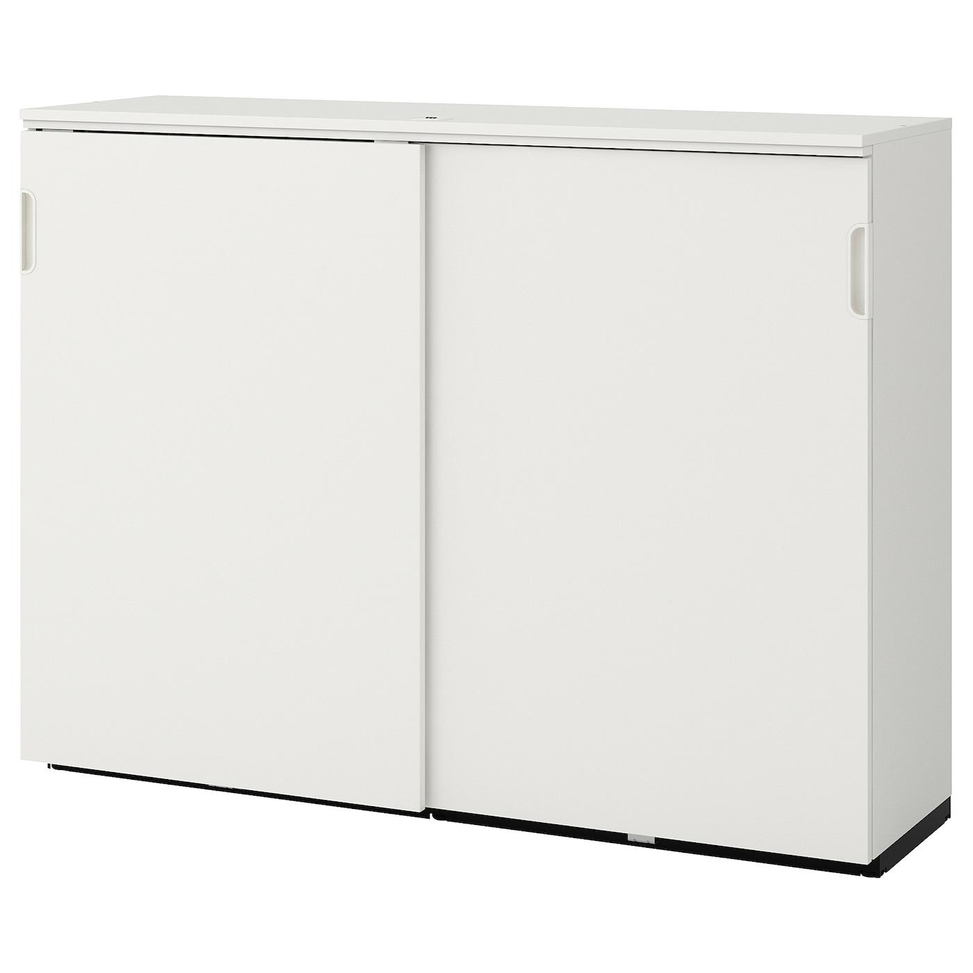 Galant Element A Portes Coulissantes Blanc 160x120 Cm Ikea Suisse
