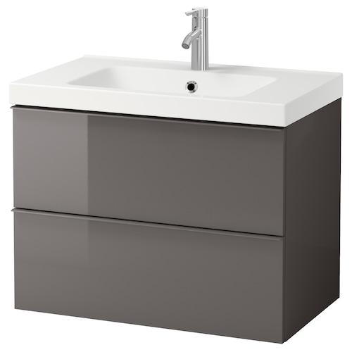 IKEA GODMORGON / ODENSVIK Meuble lavabo 2tir