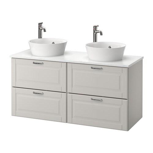 godmorgon tolken kattevik l ment lavabo avec lavabo poser kasj n gris clair ikea. Black Bedroom Furniture Sets. Home Design Ideas