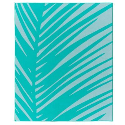 GRACIÖS tapis turquoise 160 cm 133 cm