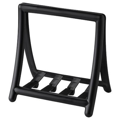 GREJA Porte-serviettes, noir