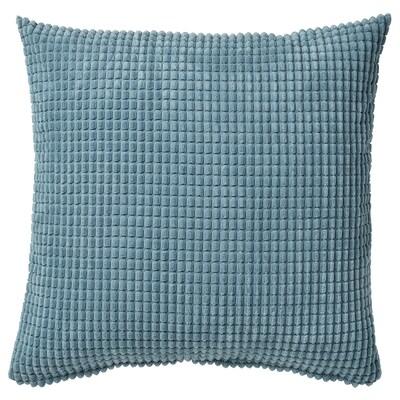 GULLKLOCKA Housse de coussin, bleu clair, 50x50 cm